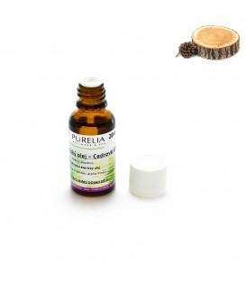 Přírodní éterický olej PURELIA cedrové dřevo