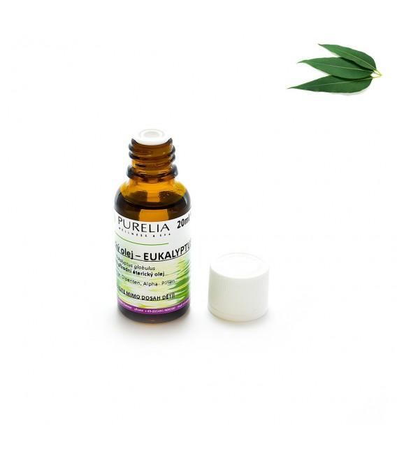 Přírodní éterický olej PURELIA eukalyptus