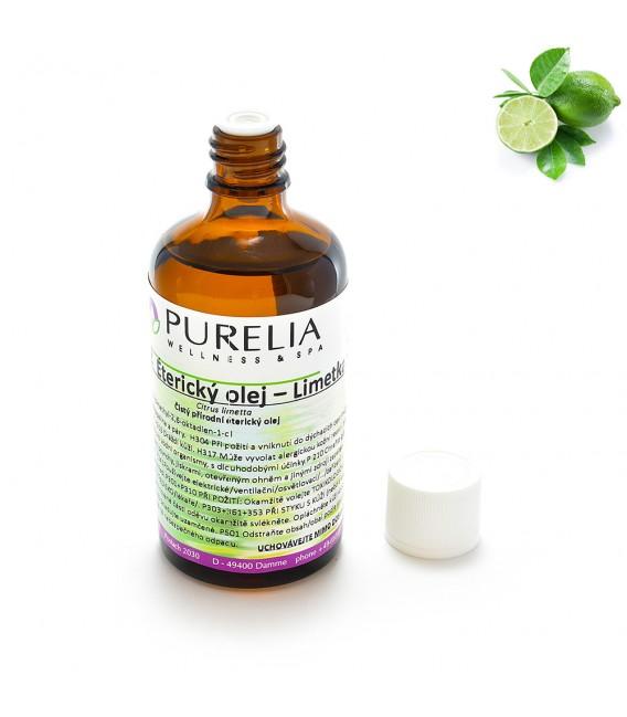 Přírodní éterický olej PURELIA limetka