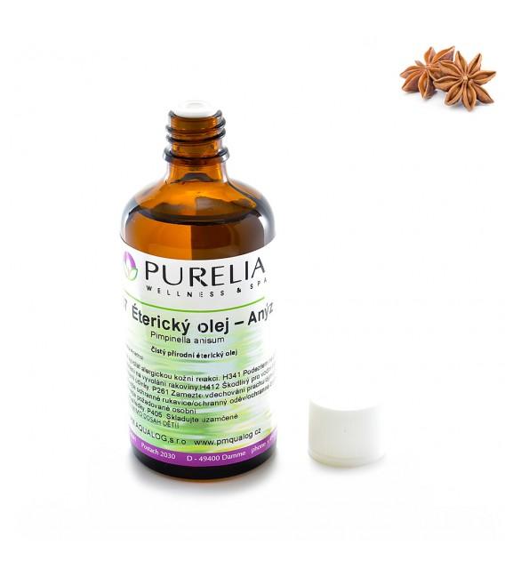 Přírodní éterický olej PURELIA anýz