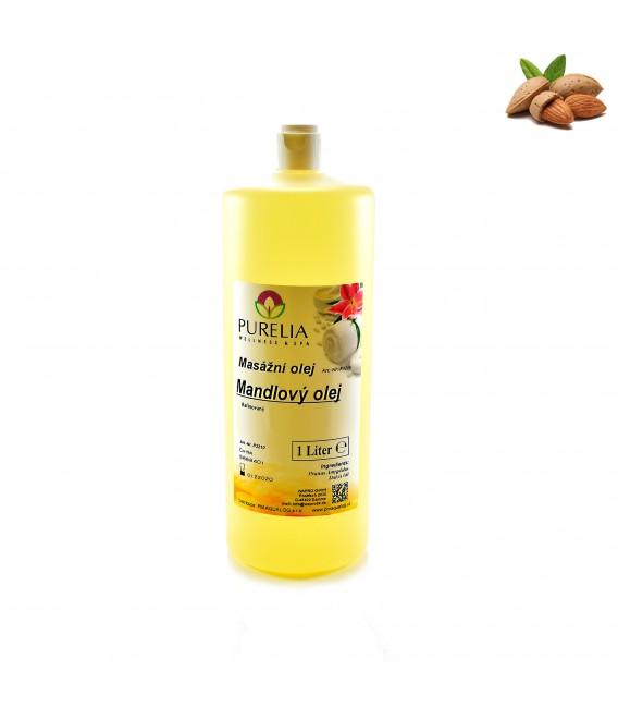 Přírodní masážní olej PURELIA mandlový