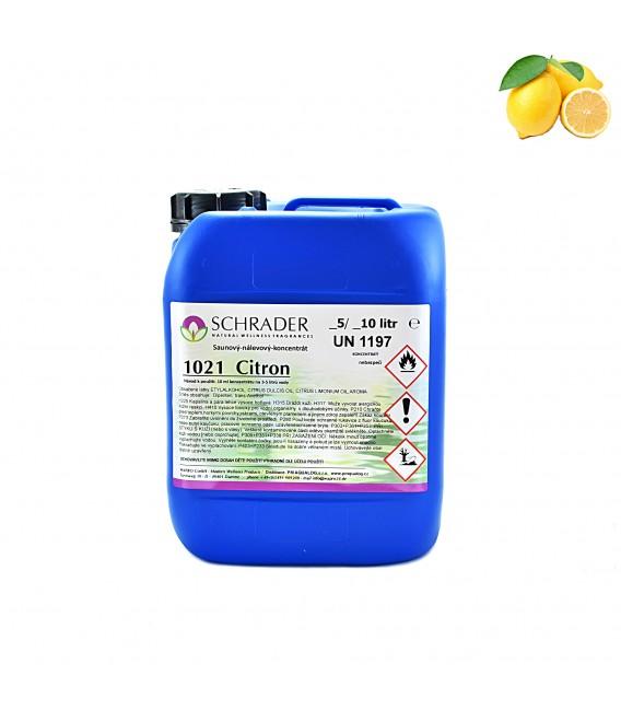 Saunová esence SCHRADER citrón