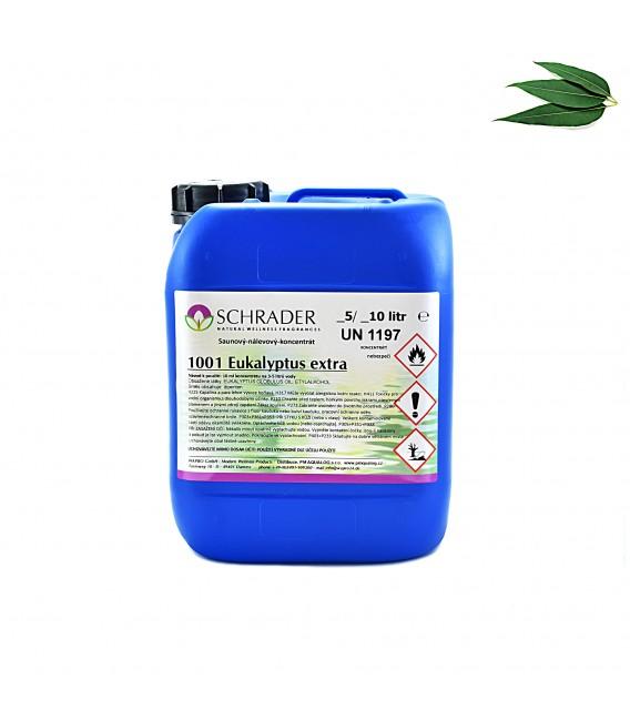 Saunová esence SCHRADER eukalyptus extra